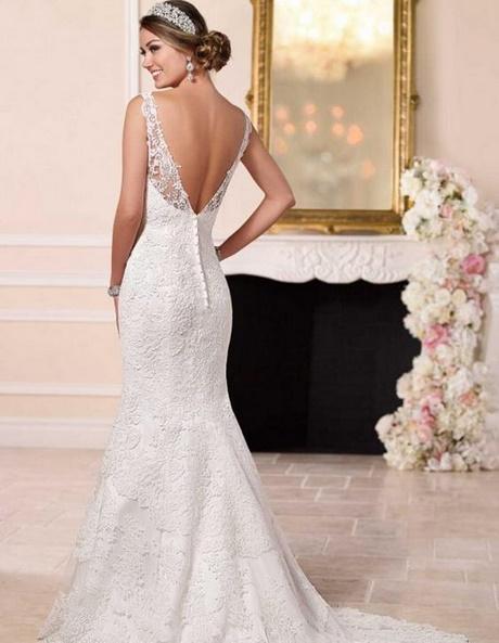 mooie elegantie trouwjurk