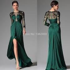 jurk met kwart mouw