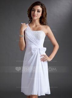jurk a lijn chiffon